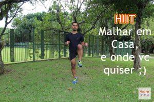 Malhando em casa e onde vc quiser com HIIT do MulherFit19 com Leandro Tadeu